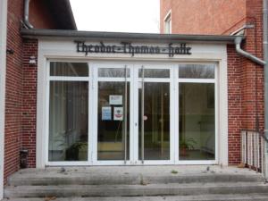Die Türen sind zu, die Kultur pausiert auch in der Esenser Theodor-Thomas-Halle